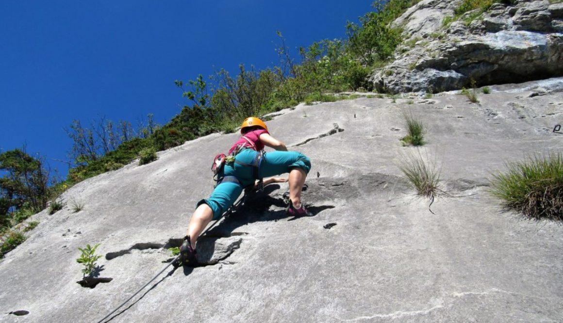 Berggfühl Grundkurs Klettern
